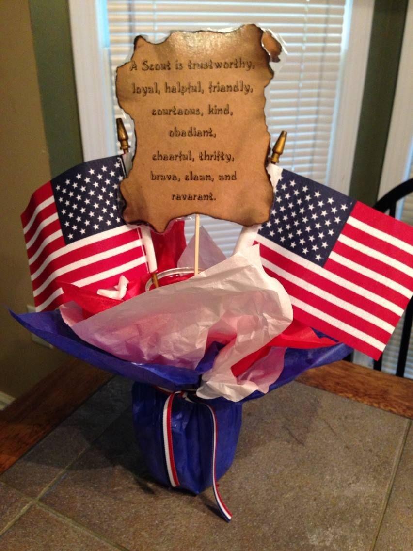 foto de Eagle Ceremony Table Decoration Eagle Scout ideas