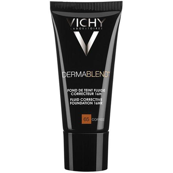 Vichy Dermablend Fluid Corrective Foundation 30ml Various Shades Donkere Kringen Littekens Vlekken