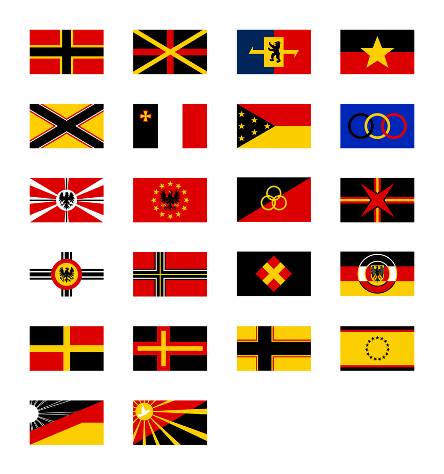 German Flag Proposals 1948 By Kristo1594 Flag Art German Flag Flag