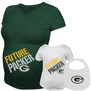 Reebok Green Bay Packers Womens Future Player Maternity Top   Infant Set bb724a4b1