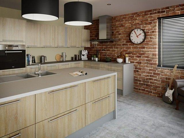 Diseño de cocina últimas tendencias 2015 Diseño de cocina, Pared - muebles de pared