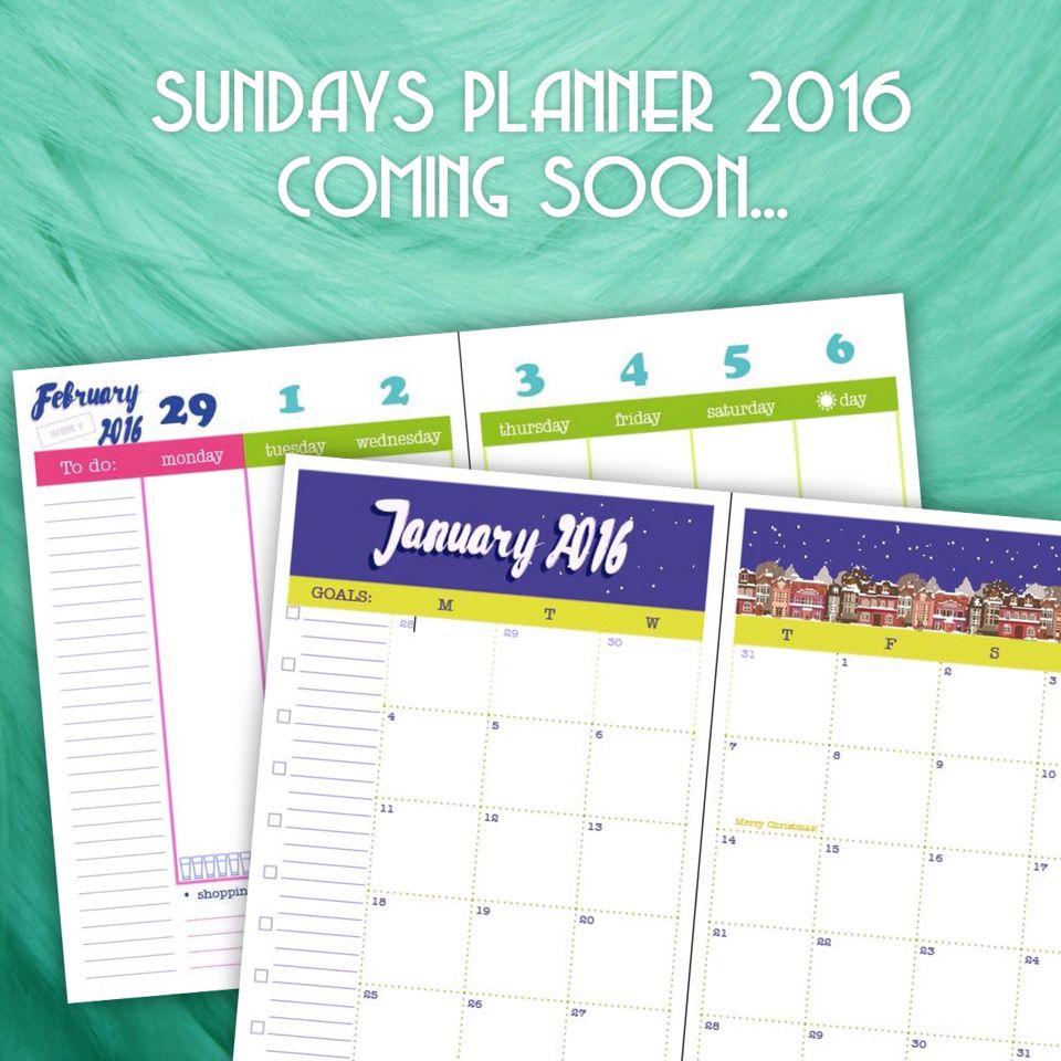 sundaysplanner made in Ukraine! S planner, 2016 goals