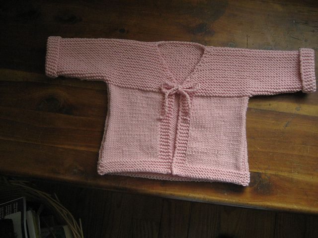 Miss Sadie Baby Kimono Easy Project By Mary Kate Long Knitting