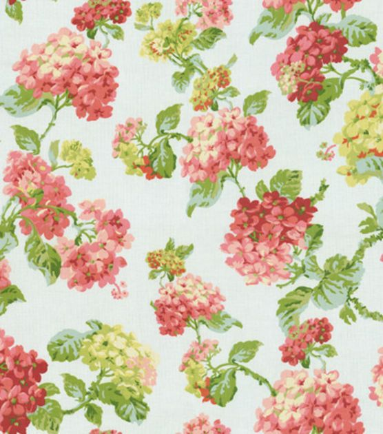 Create Lovely Fabric Based Projects With The WAVERLY Home Decor Print Fabric.  Flowing Graceful