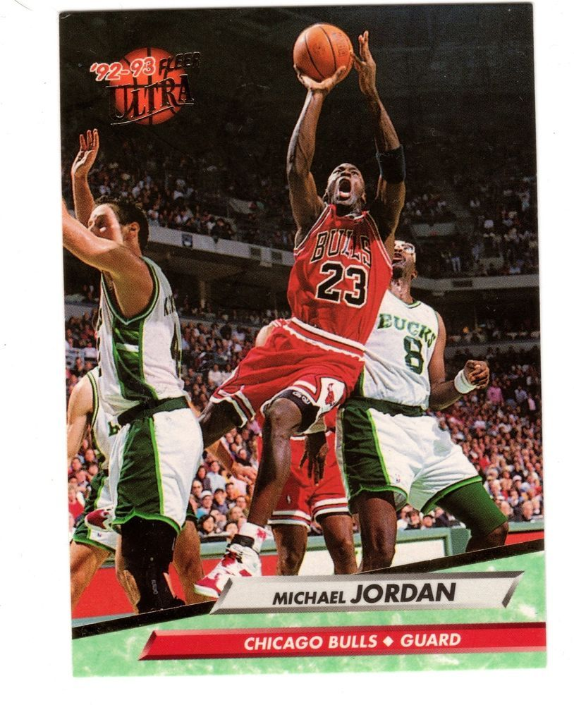 Michael Jordan 92-93 Fleer Ultra #27 NBA Basketball Card