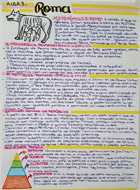 Resumo Roma Antiga Meu Guia Preparatorio Para O Vestibular Historia De Roma Roma Antiga Resumo Resumos De Historia