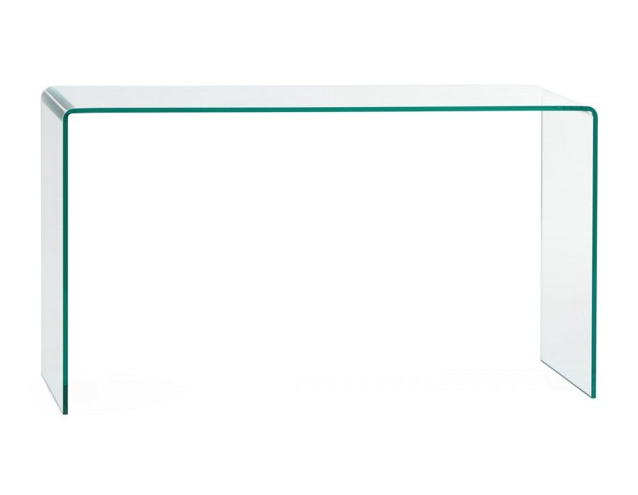 Visio Glass Console Table Glass Console Table Living