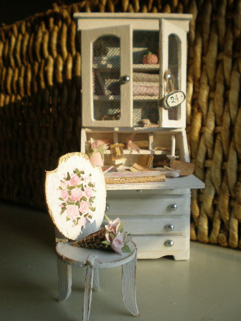 Cinderella Moments: The Etsy Artist's Dollhouse Desk
