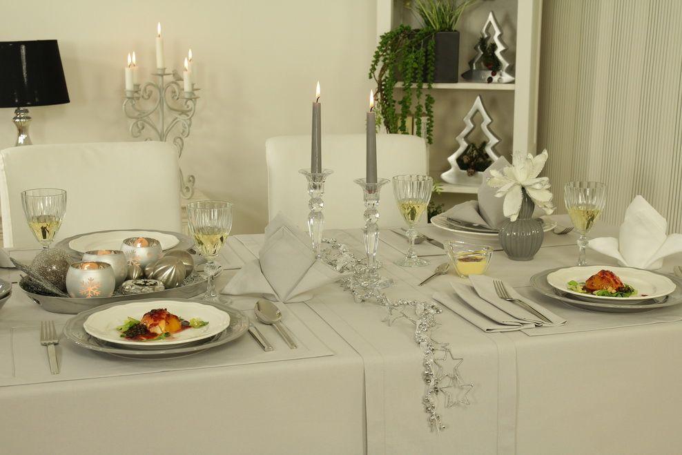 Tischdecke Fur Weihnachten Und Andere Festliche Anlasse Je Nach