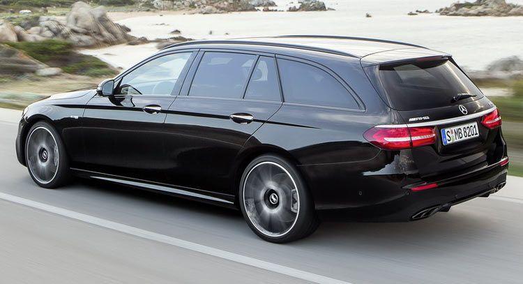 New 2017 Mercedes Benz E Class Estate Unveiled Gets 396hp E43 Amg