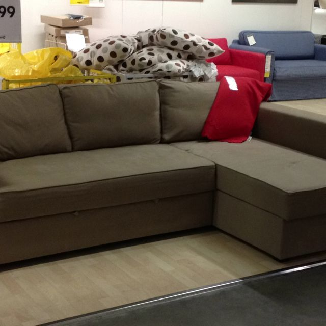 Manstad At Ikea Corner Sofa Bed With Storage 699