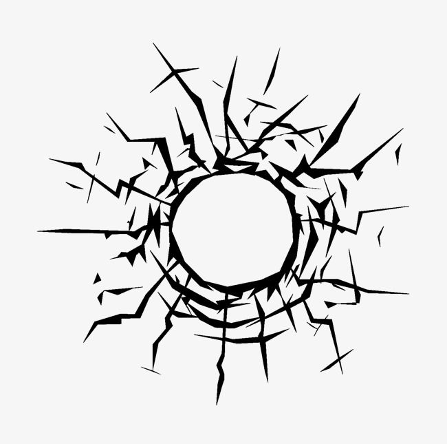 Glass Hole Png And Clipart Bullet Holes Flat Icon Clip Art
