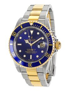 735d7580f84b9 Rolex Submariner Two-Tone Watch by Estate Watches at Gilt | Watches ...