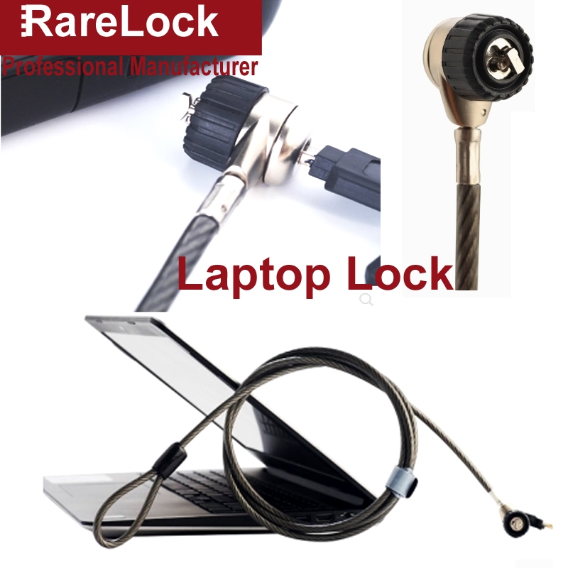 16.29$  Buy here - http://aliwho.shopchina.info/go.php?t=32769599238 - Rarelock Zinc Alloy 6mm*180mm Laptop Projector Displayer Anti-Theft Locks With Lock Catch,Base a  #magazineonlinebeautiful