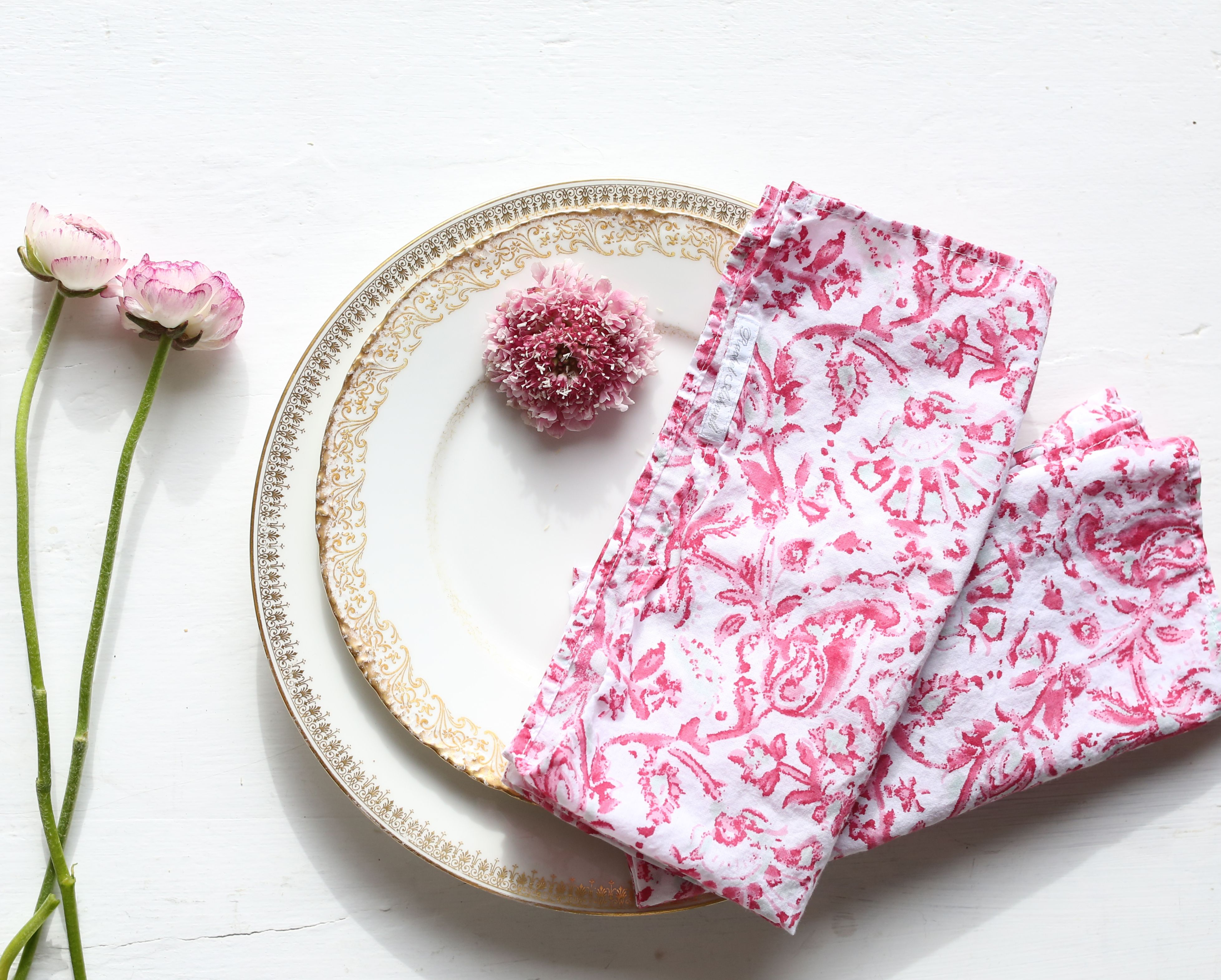 30% off our Indes Napkins. Shop now on shabbychic.com