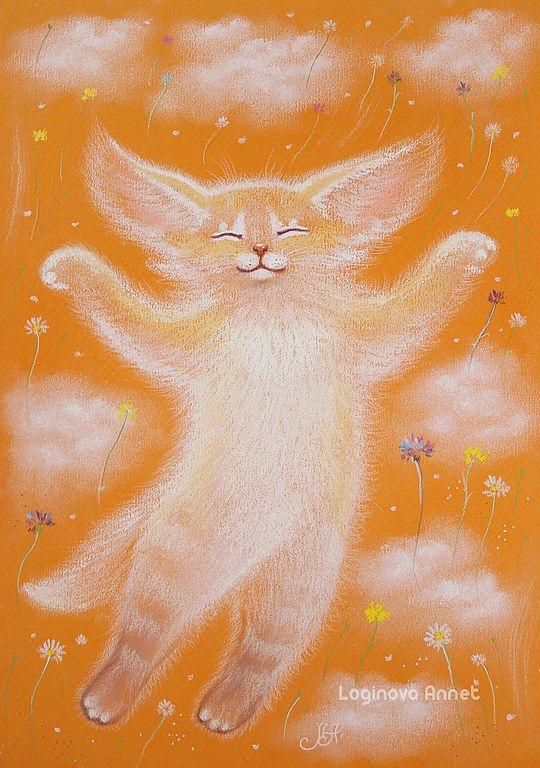 """""""Le bonheur d'Orange"""" par Annette Loginova"""
