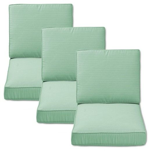 Belvedere 6 Piece Outdoor Replacement Patio Sofa Cushion Set Threshold Target