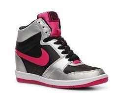 Nike Force Sky High Wedge Sneaker - Womens  e03ed4421