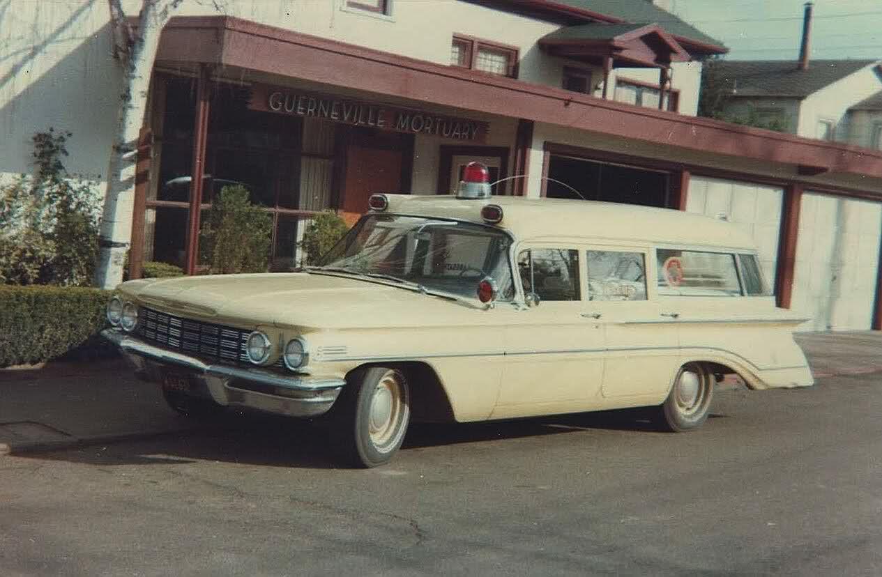1960 Seville Oldsmobile ambulance … Rescue vehicles