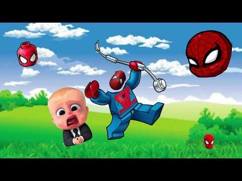 Just In Learn Colors With Wrong Heads Paw Patrol Boss Baby Spiderman Learn Colors For Kids Finger Family Https Boss Baby Coloring For Kids Learning Colors