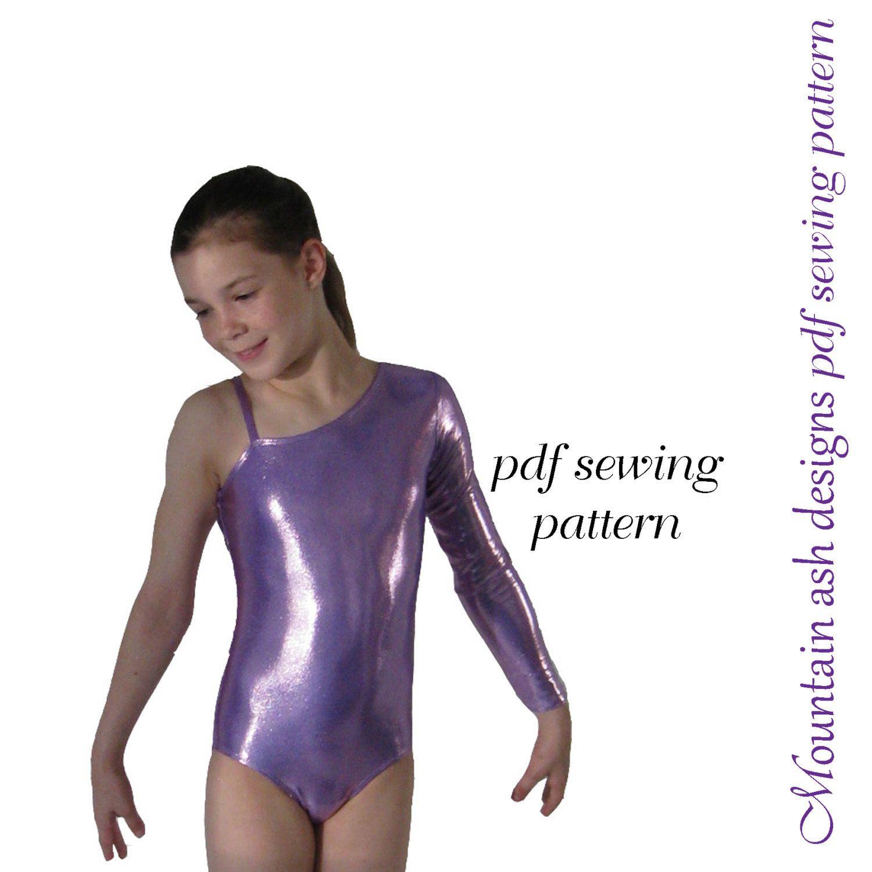 Leotards Pattern 5 pdf sewing pattern Gymnastics Dance rhythmic gym