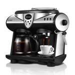 American/Italian 2 in 1 Coffee Machine Fully automatic Boilers Cappuccino Latte Macchiato Mocha Milk Froth coffee maker #lattemacchiato