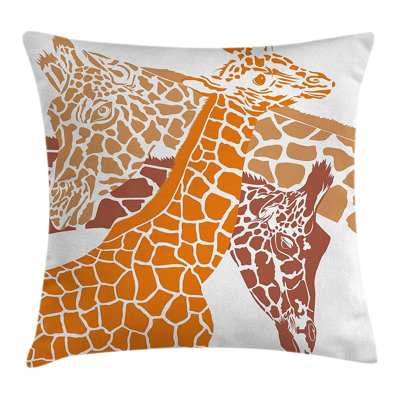African Safari Print Bedding Ease Bedding With Style Giraffe Throw Pillow Cushion Pillow Covers Throw Pillows