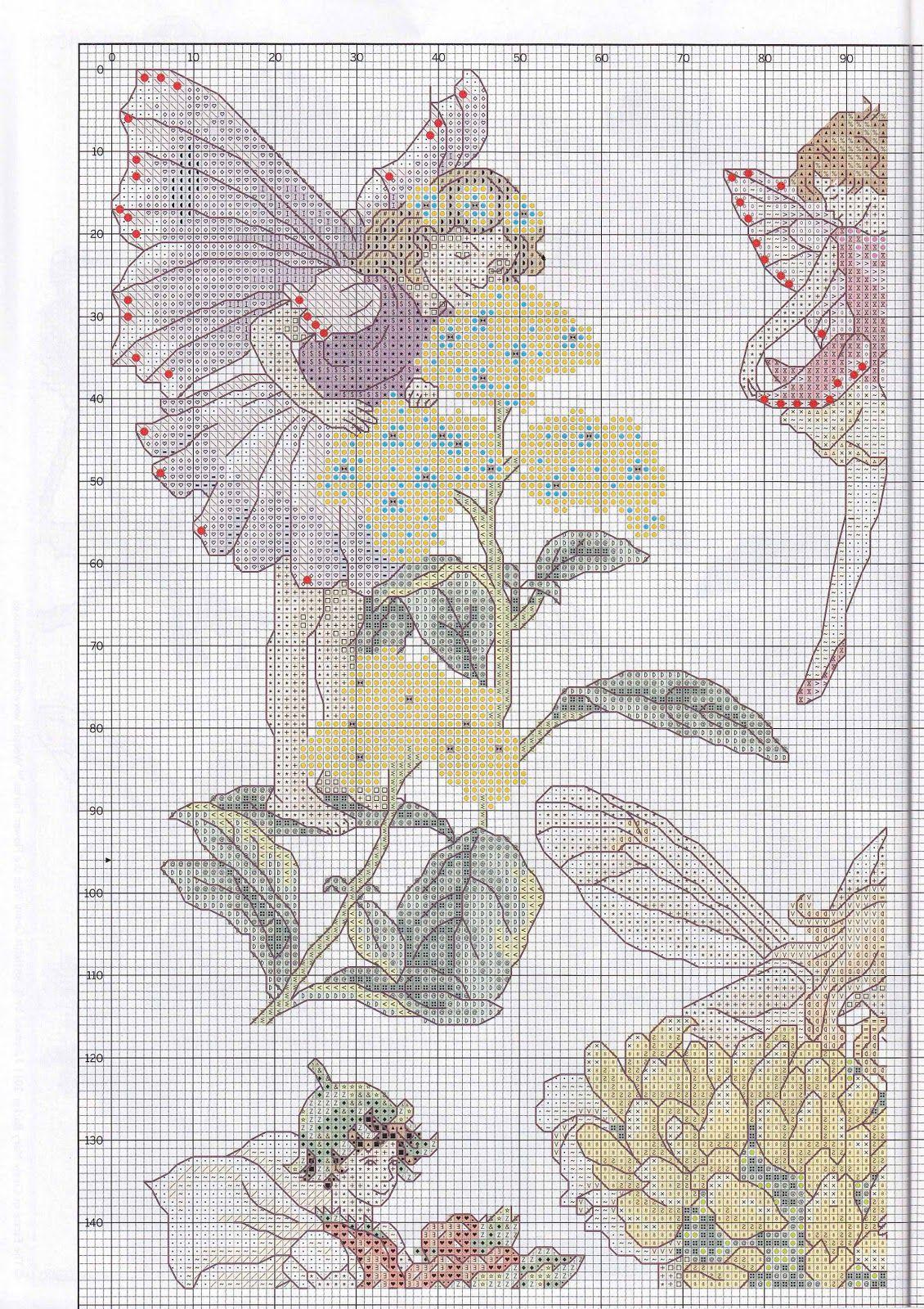 Flower fairies sampler 13 cross stitch angels and