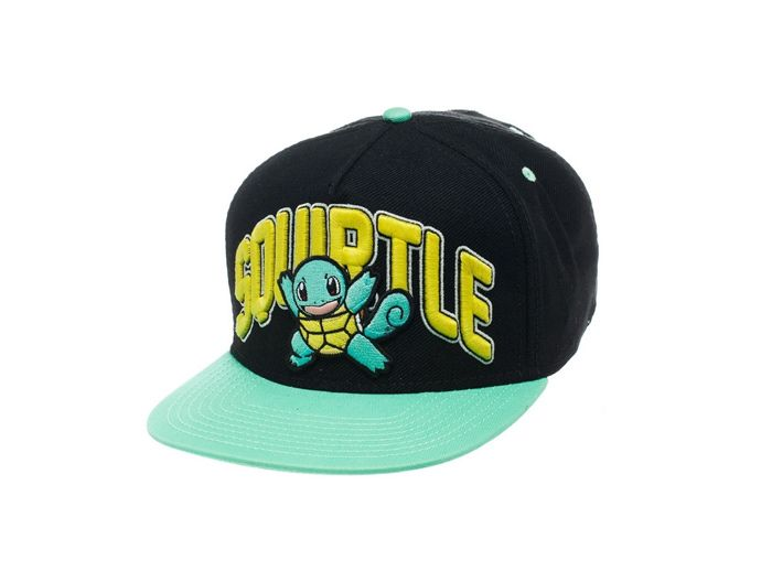 33c7c40c160 Jockey cap with Squirtle from the anime and video game series Pokemon.  Jockey cap made of high quality 100% cotton material