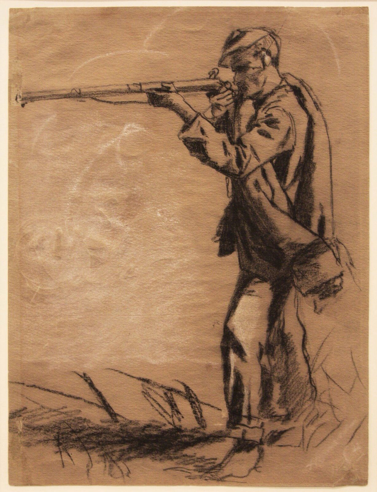 Civil War Soldier.   Winslow Homer's Civil War Drawings ...