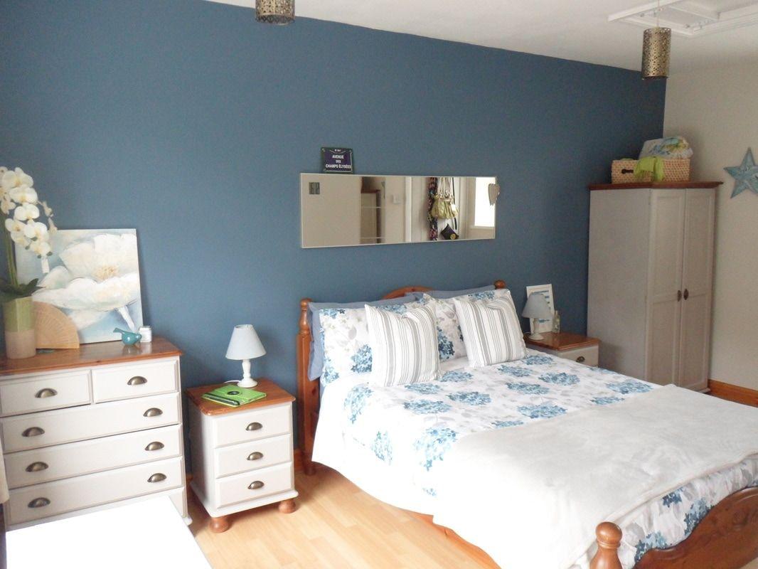 Blue Bedroom Makeover Folk Blue Valspar Bedroom Paint Samples
