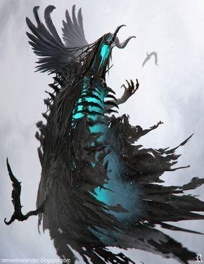 The Evil Lord Awaits Ramses Melendez On Artstation At Https Www Artstation Com Artwork The Evil Lord Await Fantasy Monster Dark Fantasy Art Creature Concept