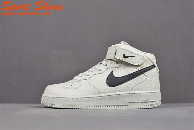 buy online 6b28a 821fd 2019 Latest Fashion Nike Air Force 1 07 High Tops Shoes Mens Casual Shoes  315123-047 White Black