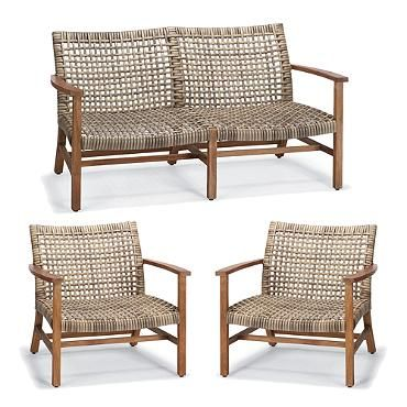 Isola 3 Pc Loveseat Set Patio Furnishings Patio Furniture Covers Outdoor Furniture Ideas Patio Chairs
