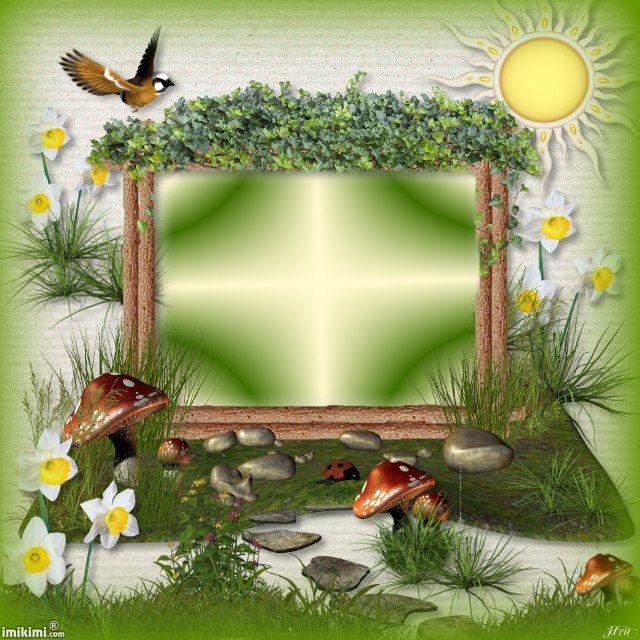 Spring Frame Clipart Frame Nature