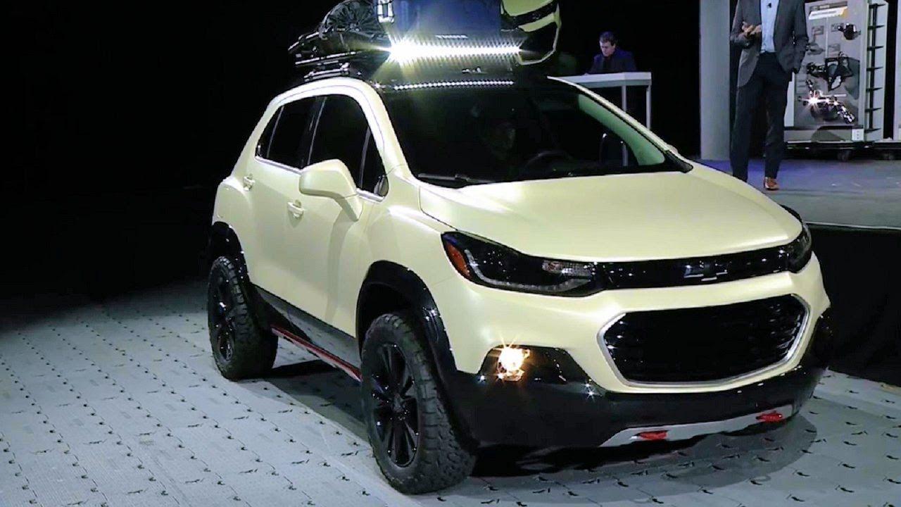 2017 Chevrolet Trax Activ Concept World Premiere 2016 Sema