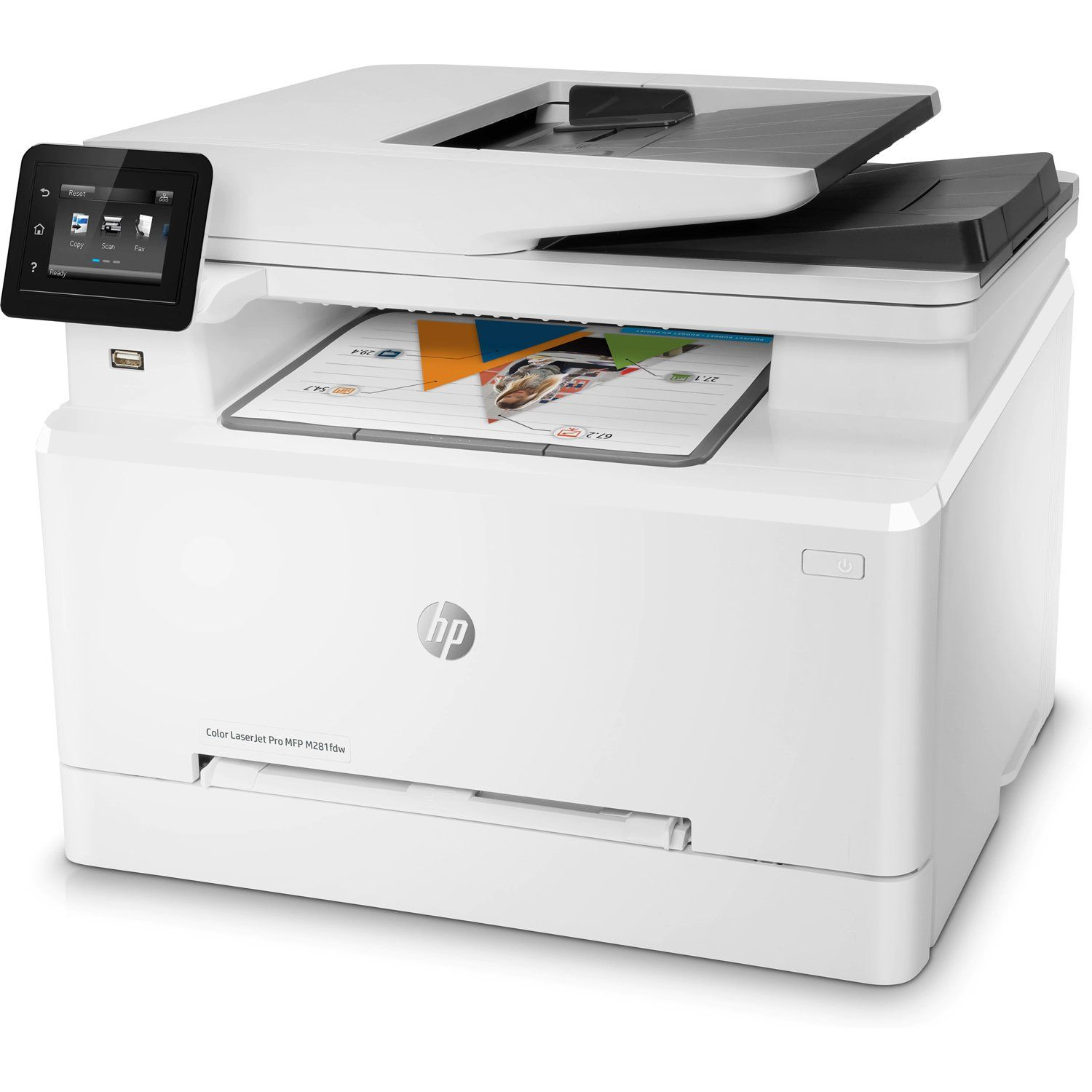 Hp Laserjet Pro M281fdw All In One Wireless Color Laser Printer T6b82a Factory Recertified Check Out The Image By Visiting The Link Affiliate Link