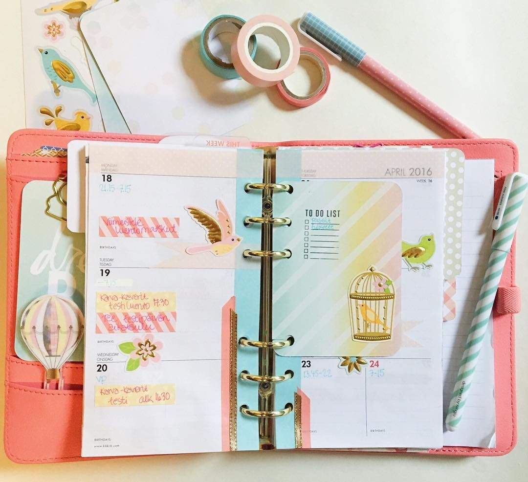 Pastel overdose in my planner  by satuotus