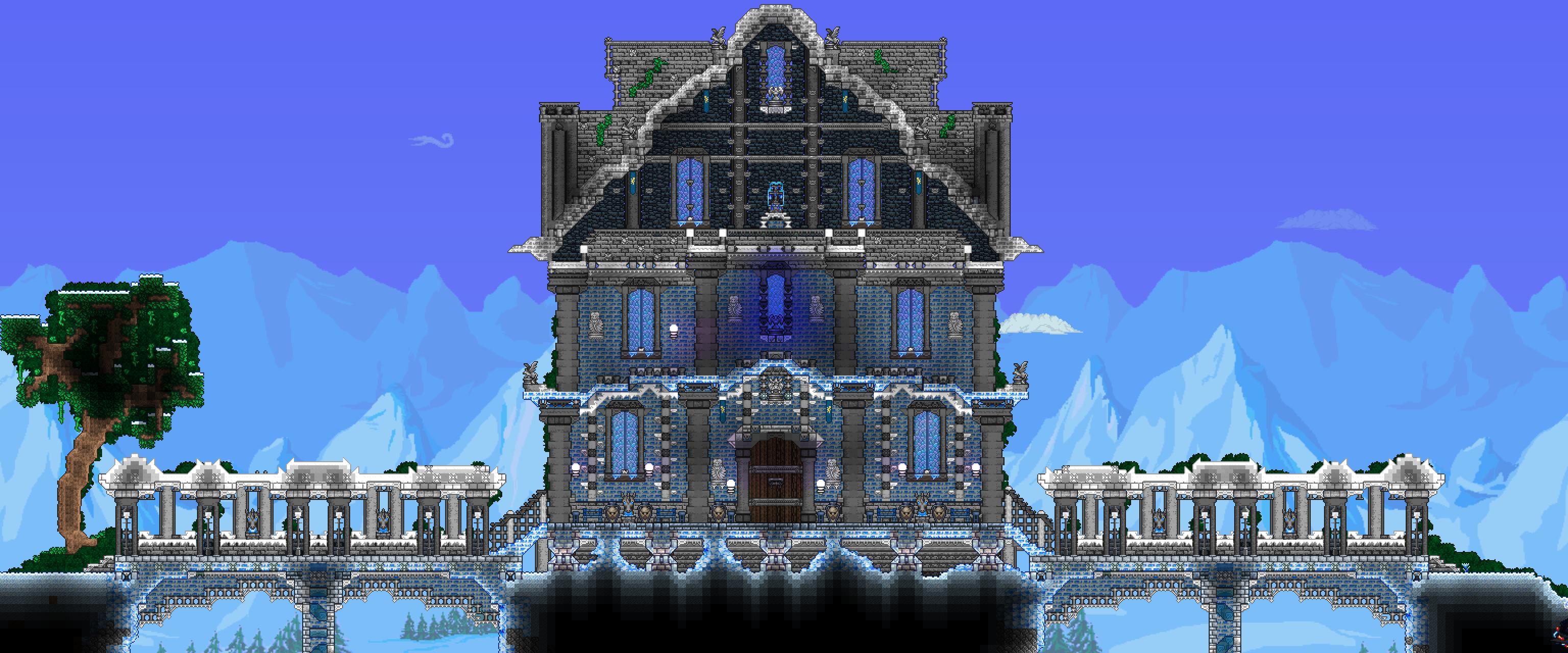 [ IMG] Terraria house ideas, Terrarium, Building