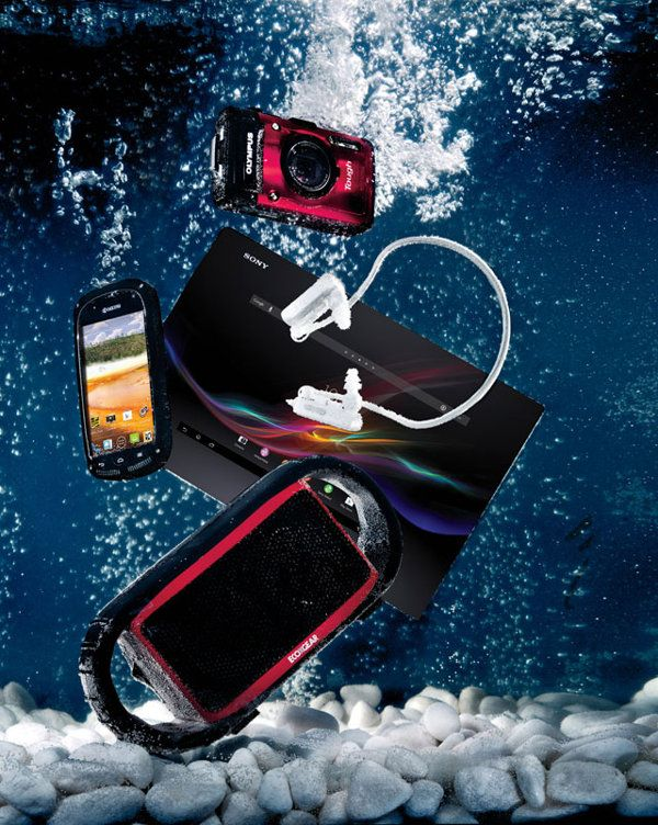 Hot waterproof gadgets for the summer: The 2015 edition