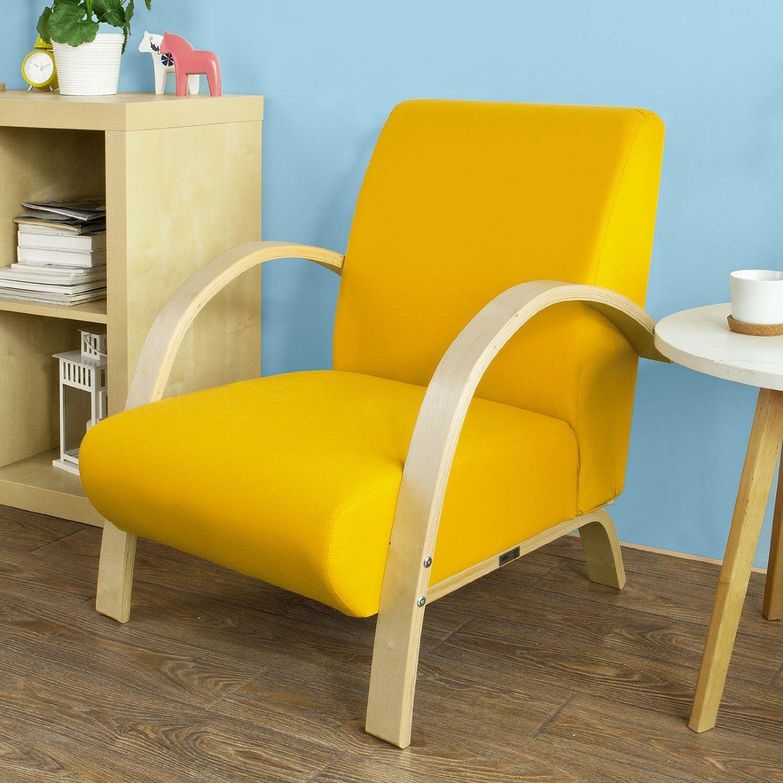 sobuy stil sedie sedia da ufficiopoltrona poltrona da attesa giallo
