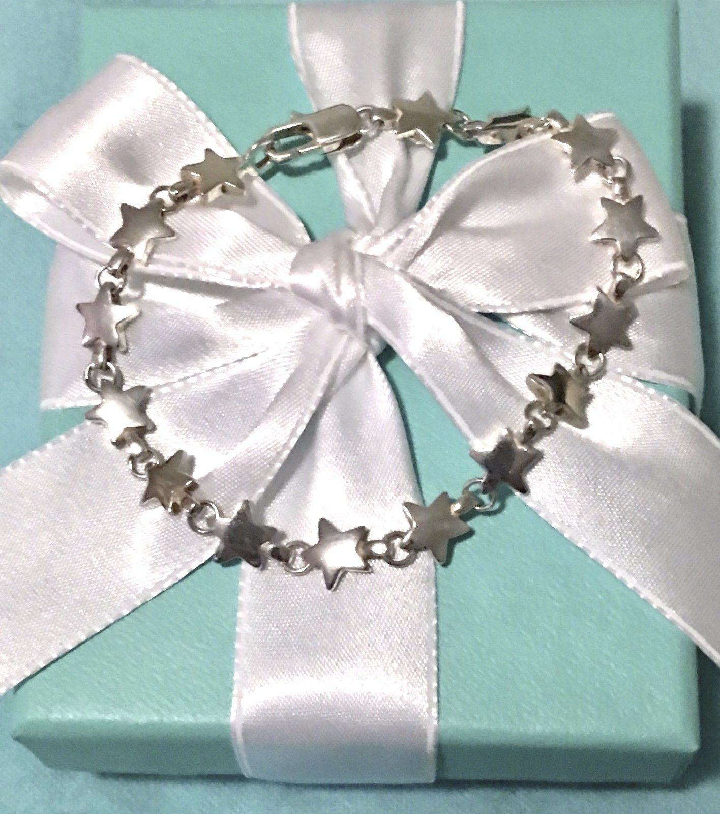 Stunning Star Tiffany & Co Sterling Silver Bracelet | Pulseras y ...