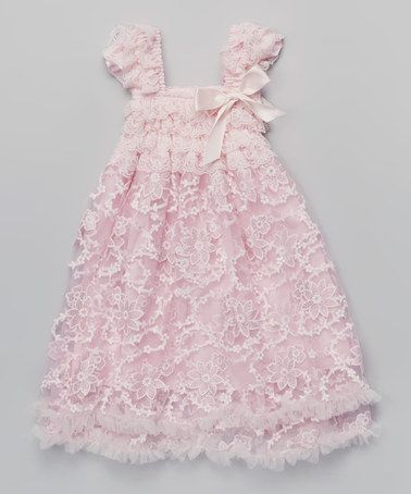 9b37edcde6 Love this Baby Pink Floral Pouf Dress - Toddler & Girls by Tutus by Tutu  AND Lulu on #zulily! #zulilyfinds