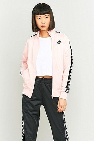 2ee627ac483 Kappa Pink Tracksuit Jacket - Sale! Up to 75% OFF! Shop at Stylizio for  women's and men's designer handbags, luxury sunglasses, watches, jewelry,  purses, ...