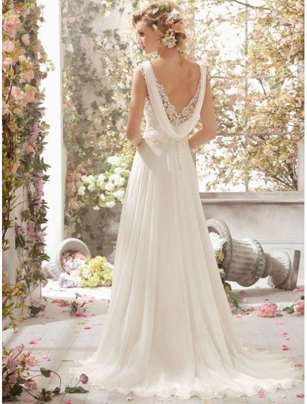 http://www.rainingblossoms.com/5429-15237-thickbox/chiffon-v-neckline-sheath-wedding-dress-with-cowl-button-back.jpg