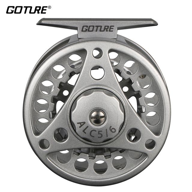 Goture Alc 5 6 7 8 9 11 Fly Fishing Reels 2 1bb 1 1 Aluminum Alloy Die Casting Fly Reel Fishing Reel Coil With Large Arbo Fly Fishing Fishing Reels Fly Reels