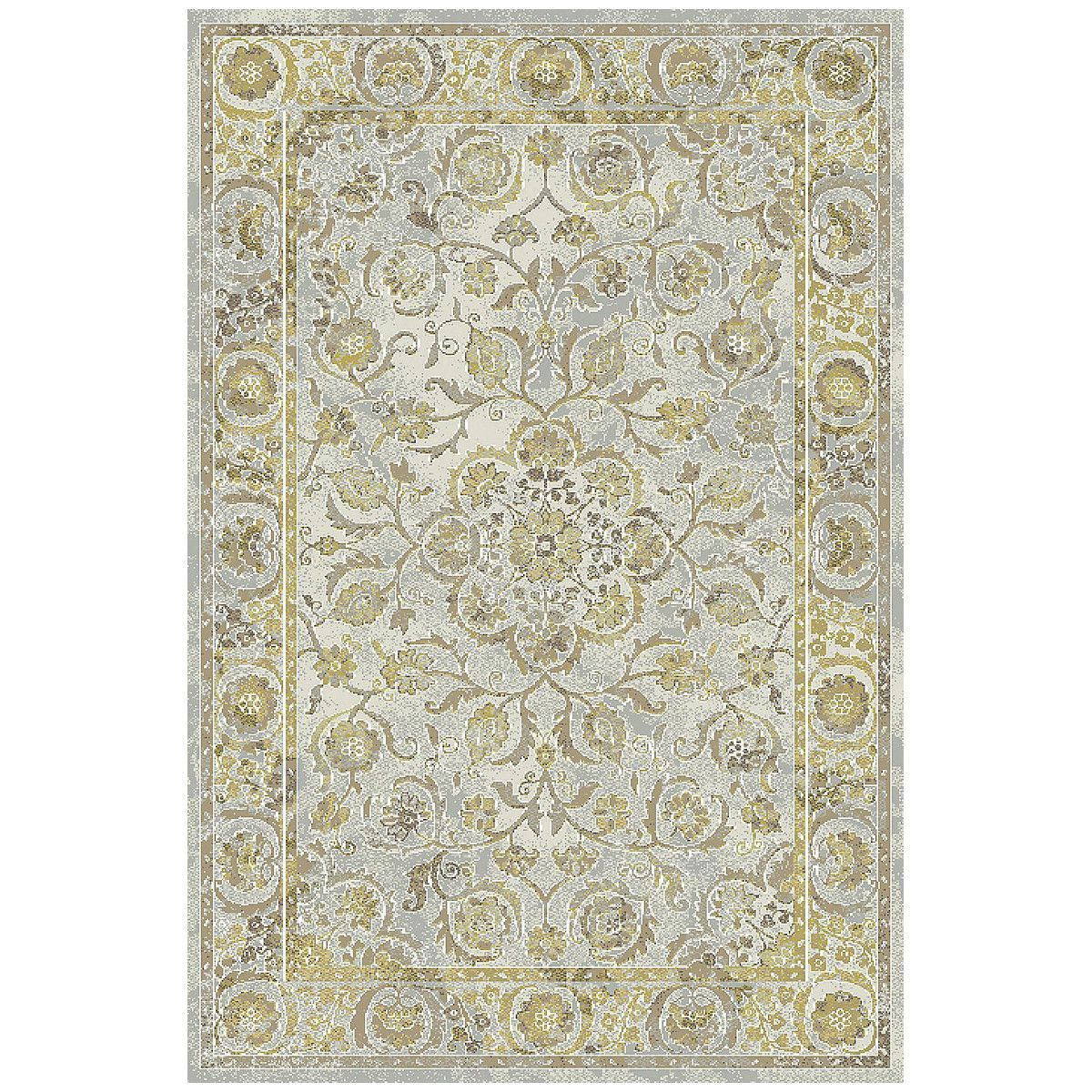 Dynamic Rugs Royal Treas 90267-135 Amber/Mocha Rug