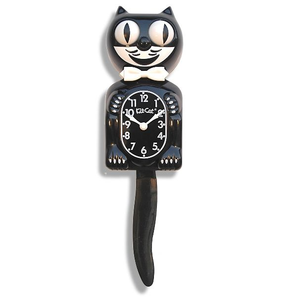The original Kit-Cat Clock design and color. Yes I love you kitty cat.