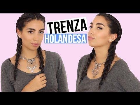 Trenzas holandesas / Trenes holandeses / Dutch braids - YouTube