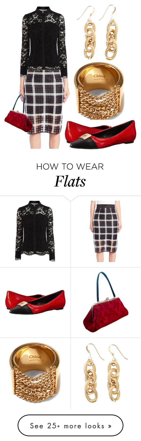 """Back on the Chain Gang"" by pampire on Polyvore featuring Milly, Chloé, Glenda Gies and Love Moschino"